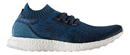 Mens adidas Ultra Boost Uncaged Parley Running Shoe - Blue 8