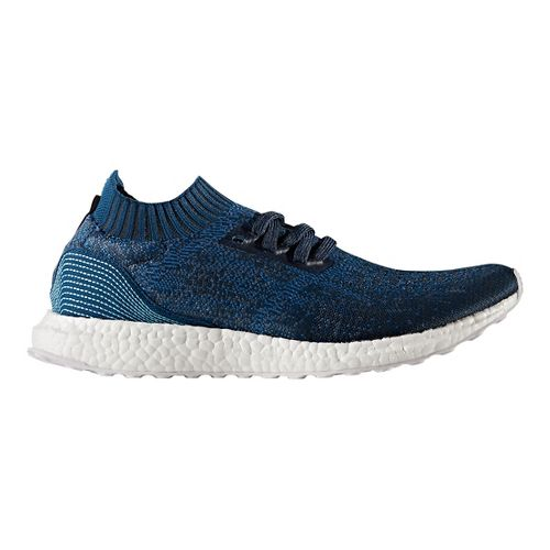 Mens adidas Ultra Boost Uncaged Parley Running Shoe - Blue 8.5