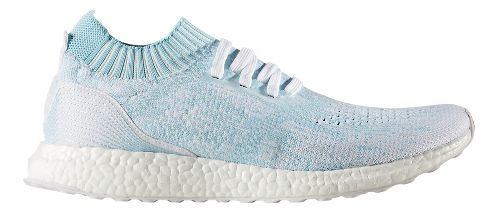 Mens adidas Ultra Boost Uncaged Parley Running Shoe - Ice Blue 9