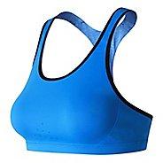 Womens New Balance NB Trinamic Sports Bras - Electric Blue S
