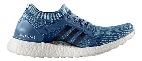 Womens adidas Ultra Boost X Parley Running Shoe - Blue 7.5