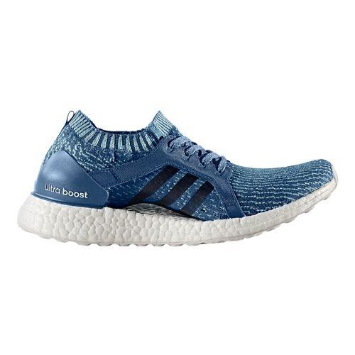 Womens adidas Ultra Boost X Parley Running Shoe - Blue 7.5