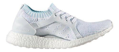 Womens adidas Ultra Boost X Parley Running Shoe - Ice Blue 9.5
