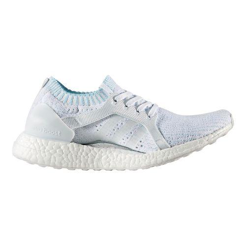 Womens adidas Ultra Boost X Parley Running Shoe - Ice Blue 10.5