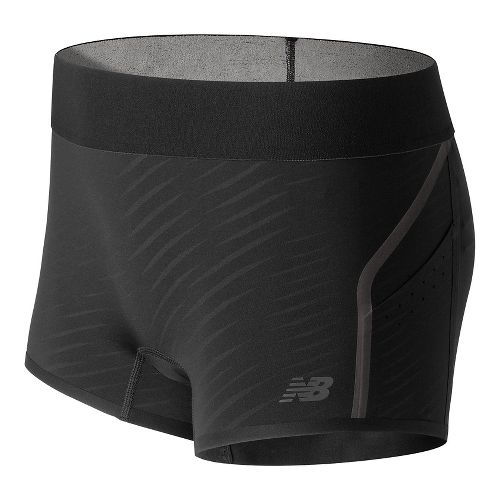 Womens New Balance Precision Run Unlined Shorts - Black S