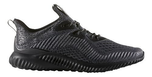 Mens adidas AlphaBounce AMS Running Shoe - Black 10