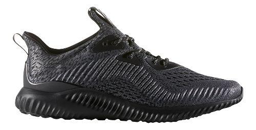 Mens adidas AlphaBounce AMS Running Shoe - Black 13