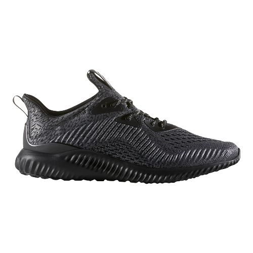 Mens adidas AlphaBounce AMS Running Shoe - Black 11.5