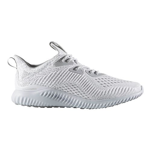 Mens adidas AlphaBounce AMS Running Shoe - Grey 11.5