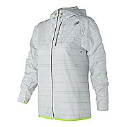Womens New Balance Reflective Lite Packable Running Jackets