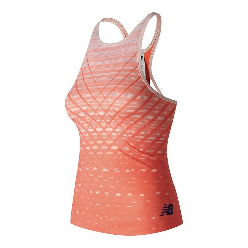 Womens New Balance Richmond Sleeveless & Tank Technical Tops - Sunrise XL
