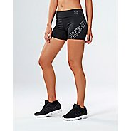 Womens 2XU X-CTRL Speed Compression & Fitted Shorts