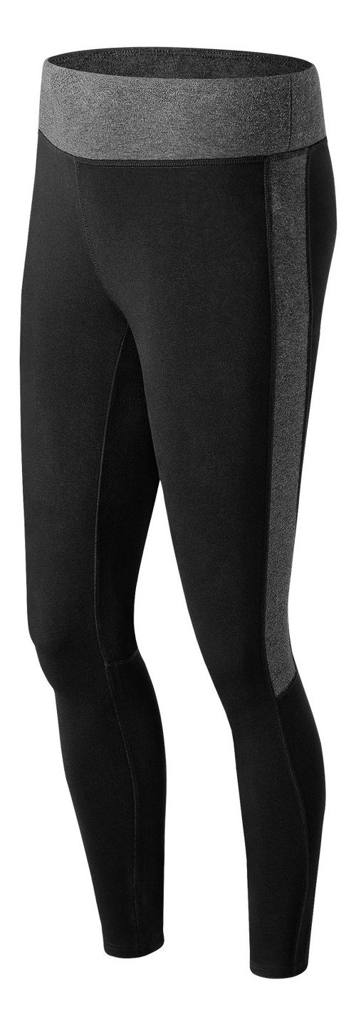 Womens New Balance Trackster Legging Tights - Black S