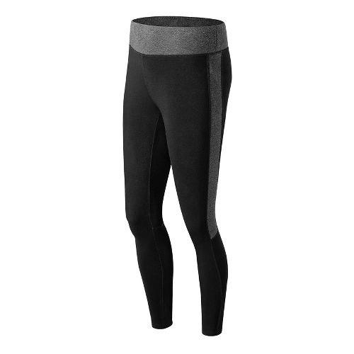 Womens New Balance Trackster Legging Tights - Black M