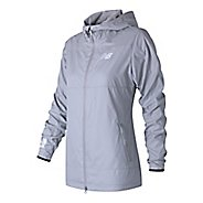 Womens New Balance Trackster Woven Casual Jackets