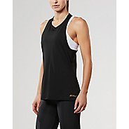 Womens 2XU X-LITE Singlet Sleeveless & Tank Tops Technical Tops