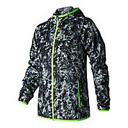 Womens New Balance Windcheater Printed Cold Weather Jackets