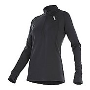 Womens 2XU X-VENT Long Sleeve w/ 1/4 Zip Half-Zips & Hoodies Technical Tops