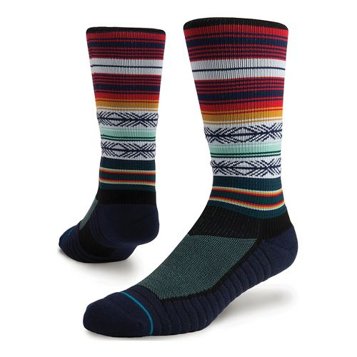 Mens Stance Mahalo Athletic Crew Socks - Multi M