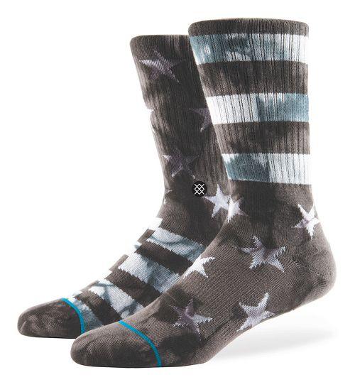 Mens Stance Victory Crew Socks - Grey M