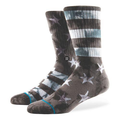 Mens Stance Victory Crew Socks - Grey L