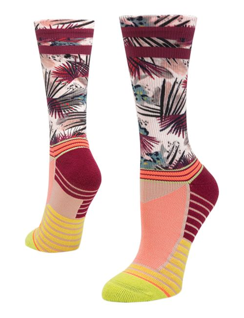 Womens Stance Athletic Record Crew Socks - Lime M