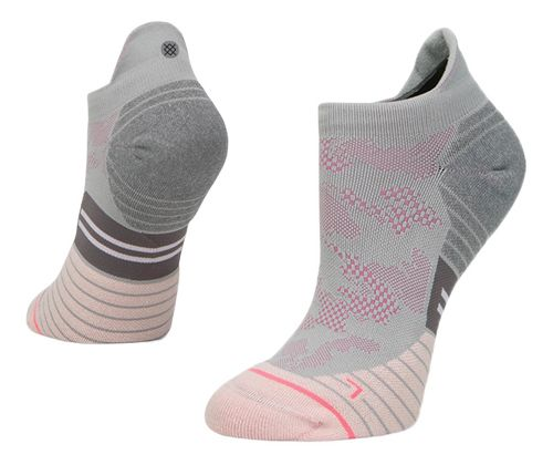 Womens Stance Run Hystory Tab Socks - Grey M