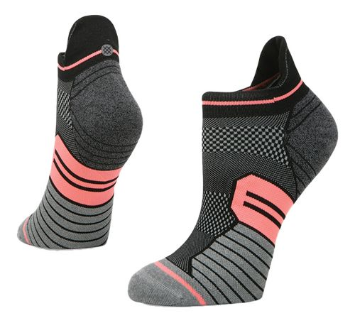 Womens Stance Run Windy Tab Socks - Black M