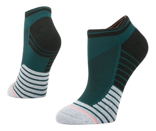 Womens Stance Athletic Precision Low Socks - Teal S
