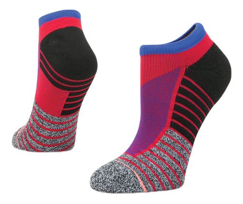Womens Stance Athletic Focus Low Socks - Red M
