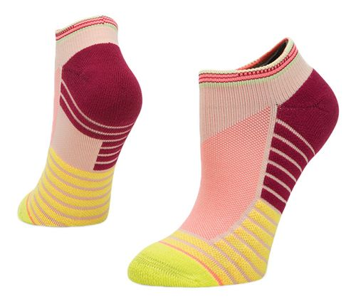 Womens Stance Athletic Record Low Socks - Lime M