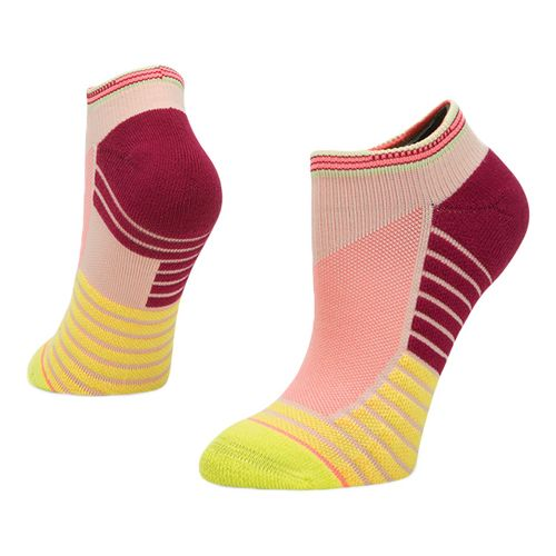 Womens Stance Athletic Record Low Socks - Lime S