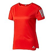 Womens Adidas Response Tee Short Sleeve Technical Tops
