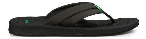 Mens Sanuk Brumeister Sandals Shoe - Black 11
