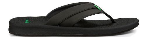 Mens Sanuk Brumeister Sandals Shoe - Black 9
