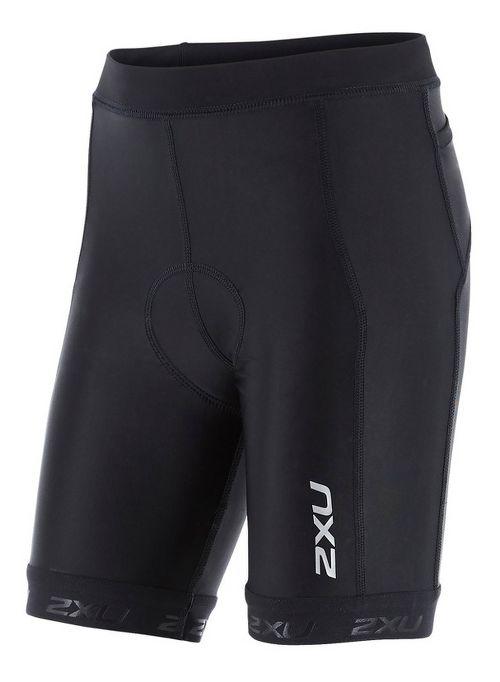 2XU Kids X-VENT Tri Cycling Shorts - Black/Black YL