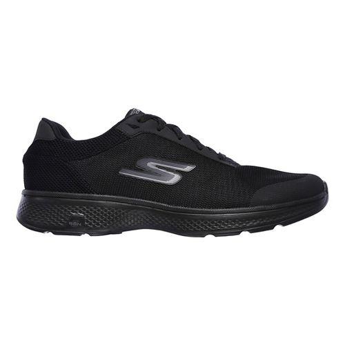 Mens Skechers GO Walk 4 Distance Casual Shoe - Black 13