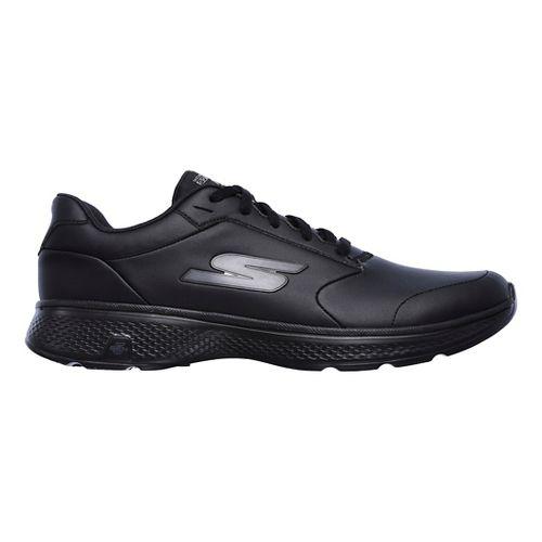 Mens Skechers GO Walk 4 Expand Casual Shoe - Black 10