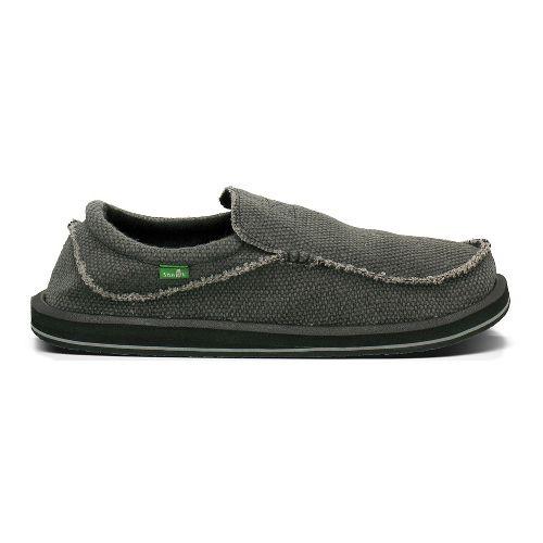 Mens Sanuk Chiba BT Sandals Shoe - Black 16