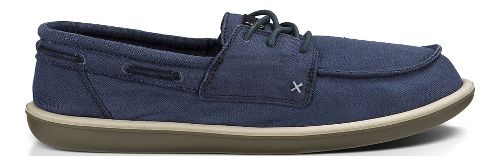 Mens Sanuk Dinghy Casual Shoe - Washed Navy 10