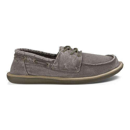 Mens Sanuk Dinghy Casual Shoe - Washed Brindle 10