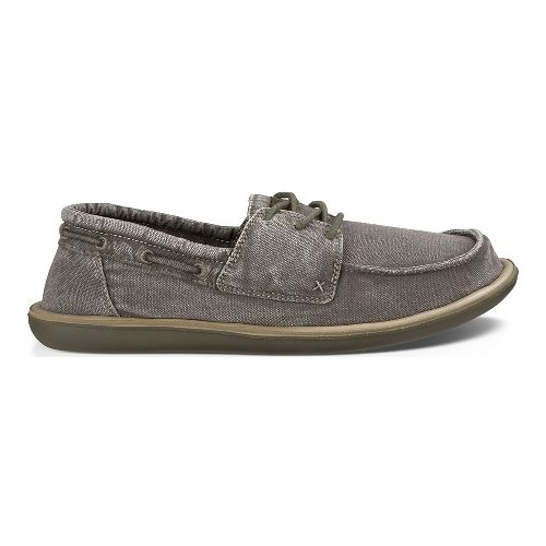 Mens Sanuk Dinghy Casual Shoe - Washed Brindle 7