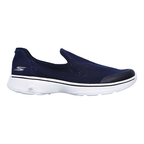 Mens Skechers GO Walk 4 Casual Shoe - Navy 8.5