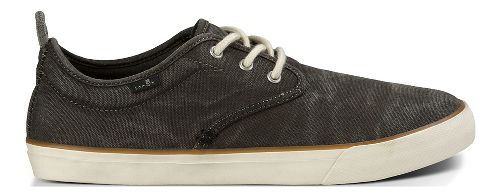 Mens Sanuk Guide Plus Washed Casual Shoe - Washed Black 9