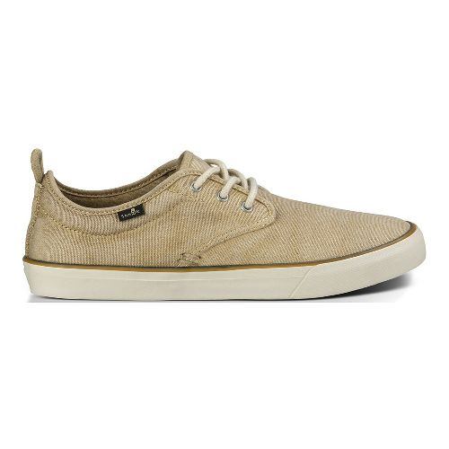 Mens Sanuk Guide Plus Washed Casual Shoe - Washed Natural 8