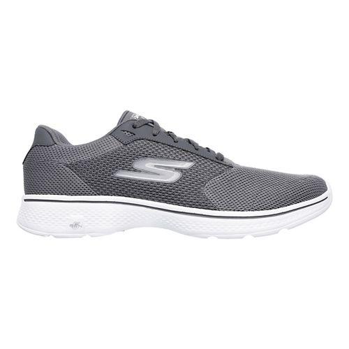Mens Skechers GO Walk 4 Casual Shoe - Charcoal 13
