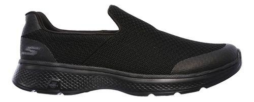 Mens Skechers GO Walk 4 Expert Casual Shoe - Black 12