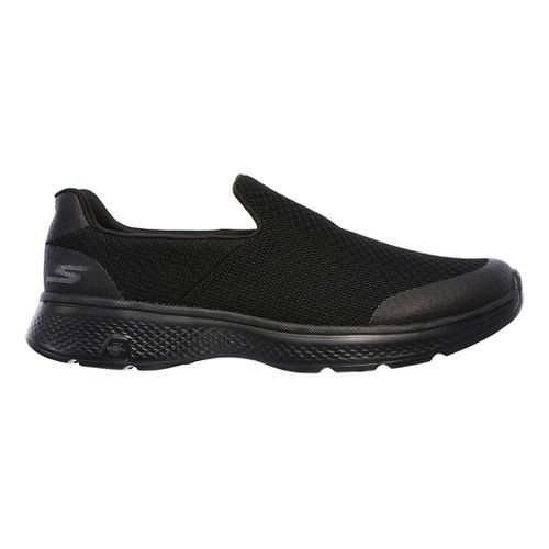 Mens Skechers GO Walk 4 Expert Casual Shoe - Black 11