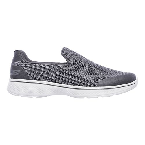 Mens Skechers GO Walk 4 Expert Casual Shoe - Charcoal 13