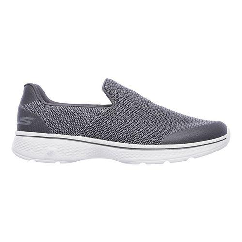 Mens Skechers GO Walk 4 Expert Casual Shoe - Charcoal 7.5